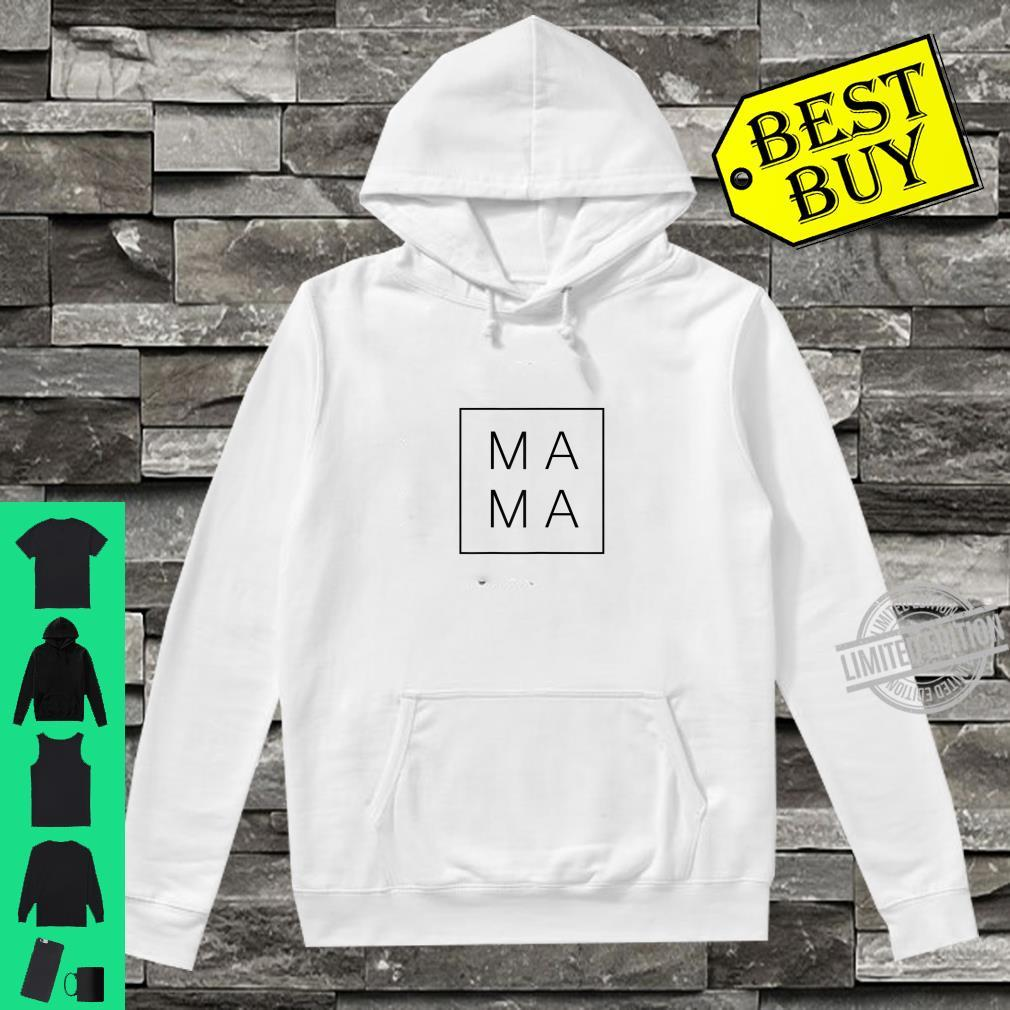 Womens Mother's Day 2020 For Mom Mama Square Shirt hoodie